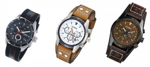 Fossil Herren-Armbanduhren