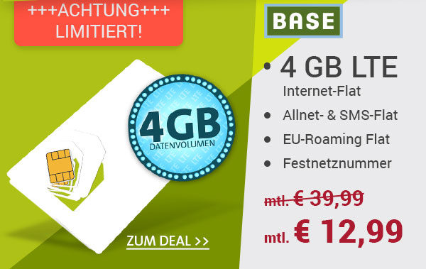 o2 alles drin flat 4gb lte surf flat eu flat f r 12 99 monat schn ppchen blog mit. Black Bedroom Furniture Sets. Home Design Ideas