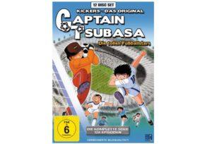Media Markt: Gönn dir Dienstag mit reduzierten Anime-Serien, z.B. Captain Tsubasa - Die komplette Serie (DVD) für 35€ (statt 43€)