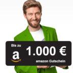 Smava: Bis zu 1.000€ Amazon.de Gutschein* für Kredit (ab 1,99%)