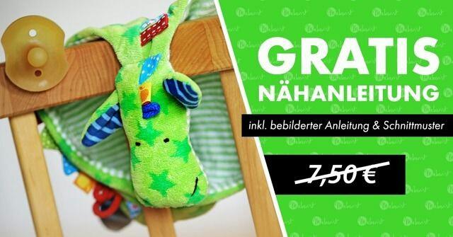 GRATIS Nähanleitung statt 7,50€ 💕 Schnullerdrache 💕oder auch ...