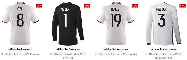 Adidas Performance DFB Home Trikots