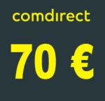 70€ Amazon.de Gutschein für kostenloses Comdirect Depot