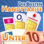 die 10 besten handytarife unter 10 euro