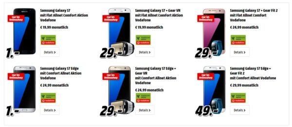 media markt galaxy s7 s7 edge vr brille
