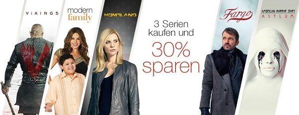 Amazon DVD Blu ray 3 Serien 30 Prozent IBB klein