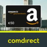 50€ Amazon.de Gutschein für kostenloses comdirect Depot
