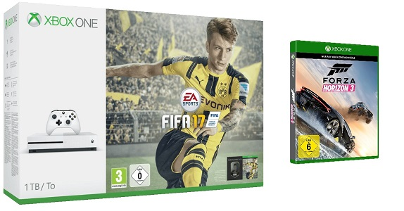 xbox one s 1 tb fifa 17 forza horizon 3 ab 349. Black Bedroom Furniture Sets. Home Design Ideas