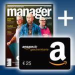 """*Knaller* 3 Ausgaben """"manager magazin"""" mit 7,10€ Gewinn (Bonus-Deal)"""