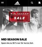 Adidas 20% extra Rabatt auf Sale + gratis Versand