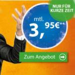 Vodafone: 100 Min + 100 SMS + 500MB für 1,95€ / 1GB für 3,95€ (Klarmobil)