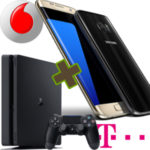 *Kracher* Galaxy S7 + PS4 Slim mit 80€ Ersparnis + GRATIS Allnet-Flat + Surf-Flat (500MB - 2GB)