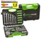 Starkmann Blackline Premium Schrauben-/Steckschlüssel-Satz, 104-tlg für 49,90€ inkl.Versand statt 79,99€🔨