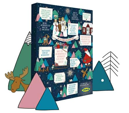 ikea adventskalender mit 10 00 aktionskarten f r 12 95 chance auf karten. Black Bedroom Furniture Sets. Home Design Ideas