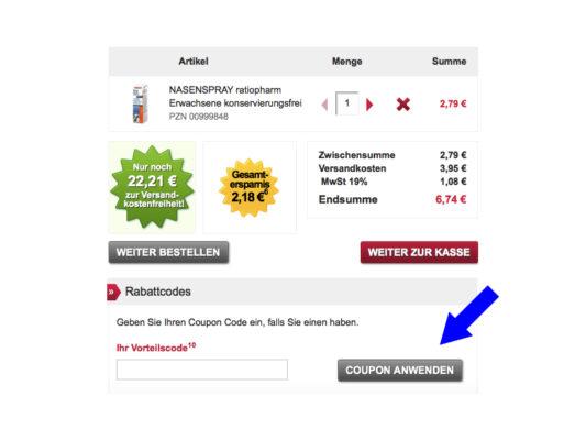Versandapotheke Auf Rechnung Für Neukunden : zur rose apotheke gutscheine juni 2018 ~ Themetempest.com Abrechnung