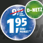 *Knaller* Vodafone: 100 Min + 100 SMS + 500MB für 1,95€ (Klarmobil) - nur bis 18 Uhr!