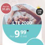 PremiumSIM: Alles-Flat + 3GB / 4GB LTE + EU-Flat ab 9,99€ - mtl. kündbar *nur kurz mit 1GB mehr!*