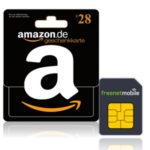 *TOP* 28€ Amazon.de Gutschein für 3,90€ durch freenetmobile SIM