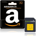 *TOP* 32€ Amazon.de Gutschein für 3,90€ durch freenetMobile SIM