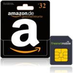 *TOP* 32€ Amazon.de Gutschein für 3,90€ durch freenetMobile SIM