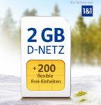 200-400 Min/SMS + 2GB LTE für 6,99€ (oder 3GB / 4GB) im D2- oder o2-Netz *Jetzt mit 0,00€ Anschlussgebühr*