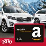 25€ Amazon.de Gutschein* für kostenlose Kia Probefahrt