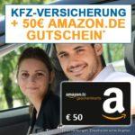 *SPECIAL* Kfz-Versicherung wechseln + 50€ Amazon.de Gutschein* abstauben
