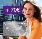 *Nur noch heute!* Barclaycard New Visa mit 70€ Bonus - dauerhaft beitragsfrei!