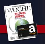GRATIS: 5€ Amazon.de Gutschein für 3x Frankfurter Allgemeine Woche *Letzte Chance*