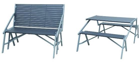2 in 1 gartenbank siena garden flip flop f r 64 90 statt 75 schn ppchen blog mit. Black Bedroom Furniture Sets. Home Design Ideas
