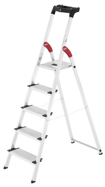 hailo alu sicherheits haushaltsleiter xxl f r 49 99. Black Bedroom Furniture Sets. Home Design Ideas