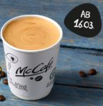 Gratis Kaffee bei McCafé ab 16.03. bis 29.03. - immer bis 10.30 Uhr bzw. 11.30 Uhr