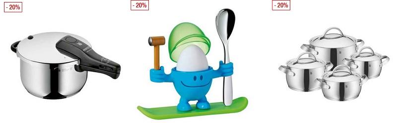 WMF Sale mit 20% Rabatt auf Töpfe, Besteck, Küchenartikel und mehr ...