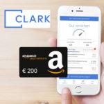 Bis zu 200€ Amazon.de Gutschein für Clark Versicherungs-App