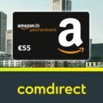 55€ Amazon.de Gutschein für kostenloses comdirect Depot