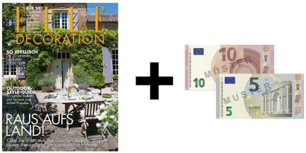 🛋 3x Elle Decoration für 19,50€ + 15€ Verrechnungscheck