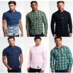 Superdry Hemden (verschiedene Modelle) für Herren um 24,95€ (statt bis zu 40€)