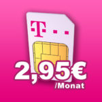 Telekom: 100 Min + 400MB für 2,95€ / mit 1GB für 6,95€ / mit 2GB für 9,95€ (Klarmobil)