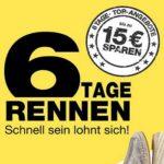 Bis zu 15€ Rabatt beim 6 Tage Rennen von Galeria Kaufhof