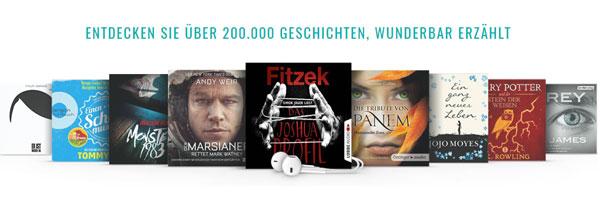Gratis Audible Hörbücher Einen Monat Testen Freunden Hörbücher