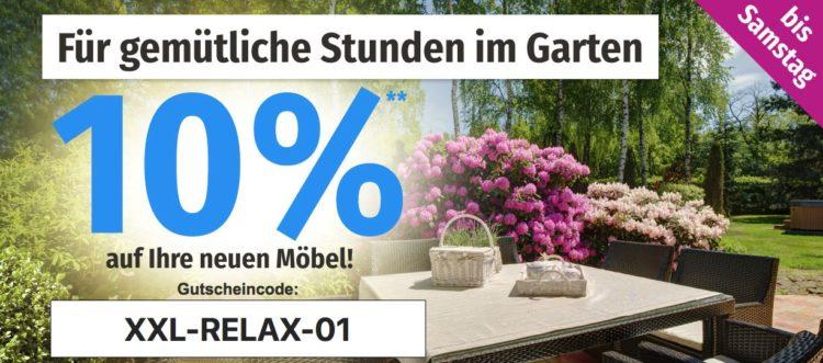 10 Extra Rabatt Auf Gartenmöbel Im Sale Bei Gartenxxl