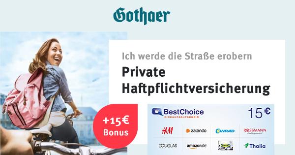 gothaer-haftpflicht-bonusdeal-uebersicht