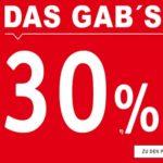30% Rabatt auf (fast) alles im XXXL-Shop + 10€ Extra-Rabatt dank Newslettergutschein