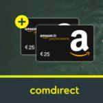 comdirect Girokonto + bis zu 150€ Prämie + 2x25€ Amazon.de Gutschein