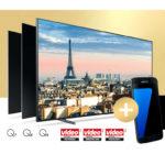 Samsung QLED Smart TV kaufen & Gratis Galaxy S7 / S7 Edge bekommen (Wert: ~500€)
