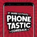 Galaxy S8-Kracher bei Sparhandy Phonetastic - nur 1717x