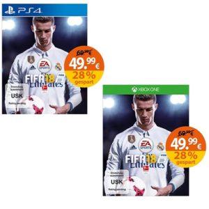 FIFA 18 Vorbestellung