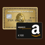 American Express Gold Card kostenfrei + 100€ Amazon.de Gutschein*