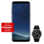 *Knaller* Galaxy S8 + Gear S3 Smartwatch + Induktionsladestation für nur 69€ mit Vodafone Allnet-Flat + 2GB für 29,99€/Monat (oder 1GB mit LTE) - effektiv kostenlos