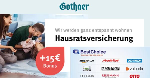 gothaer-hausrat-bonusdeal-uebersicht